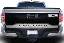 "Vinyl Graphics Decal for 16-17 Toyota Tacoma ""TRD"" Tailgate Wrap Kit MATTE BLACK"