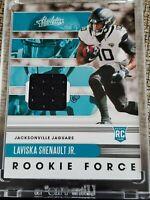 2020 Absolute Football Laviska Shenault Jr RC Rookie Force Relic #18