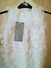 BNWT Mamas & Papas Famiglia 100% Silk Christening Gown 0-3 months £150.00