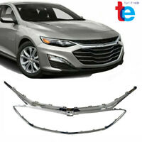 Front Bumper Grille Frame Chrome Grill For Chevrolet Malibu 2019 2020 ABS