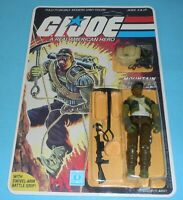 *RECARDED* 1985 GI Joe Alpine v1 Figure Complete Sealed *CUSTOM File Card Back*