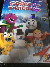 Frosty Friends - Barney - Thomas - Bob (DVD) NEW