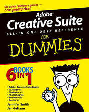 USED (GD) Adobe Creative Suite All-in-One Desk Reference For Dummies by Jennifer