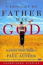 Audio book - I Thought Father was God by Paul Auster   -   Cass