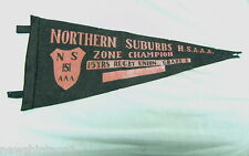 #T5. 1960s Northern Suburbs High Schools Junior Rugby Union Pennant