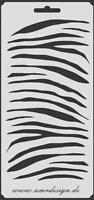 Scrapbooking Schablone S-043  Zebra ~ Stencil ~ UMR-Design