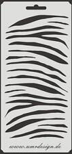SCRAPBOOKING Stencil s-043 ZEBRA ~ Stencil ~ UMR-DESIGN