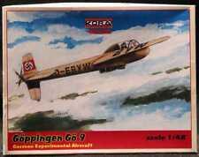 KORA Models 1/48 GOPPINGEN Go-9 Experimental Plane