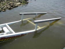 "2- 48"" x 3"" NEW BOAT TRAILER BUNK SLIDES Plastic Poly Glide Pontoon Fish Lift"