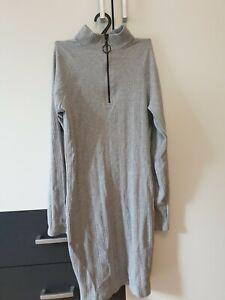 Graues Kleid Langarm