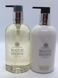 Molton Brown Orange & Bergamot Hand Wash & Body Lotion 300ml New