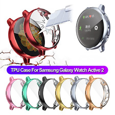 Silicone Bumper Screen Protector Cover For Samsung Galaxy Watch Active 2 40 44