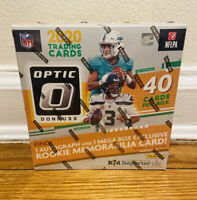 2020 DONRUSS OPTIC NFL FOOTBALL MEGA BOX BURROW TUA HERBERT RC FANATICS RED 40
