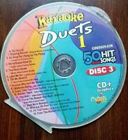 DUETS ONE KARAOKE CDG CHARTBUSTER 5025-03 CD+G MUSIC OLDIES,COUNTRY 16 SONGS