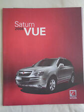 Saturn Vue GAMA FOLLETO 2008 mercado de Estados Unidos