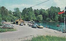 Sturgeon River Government Wharf STURGEON FALLS Ontario Canada Postcard