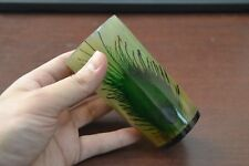 """Peacock Buffalo Horn Game Of Throne Medieval Drinking Ale Shot Cup 5"""" #Yf"""