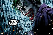 Poster A3 Joker Batman 12