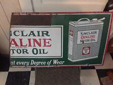 Sinclair / Opaline Motor Oil Porcelain Sign