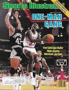 SI: Sports Illustrated November 17, 1986 Michael Jordan Chicago Bulls, VERY GOOD