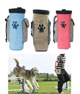Pet Dog Treat Bag Training Food Snack Pouch Waist Belt Puppy Feed Portable Bags