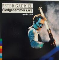 PETER GABRIEL : SLEDGEHAMMER (LIVE EDIT) - [ FRENCH PROMO CD ] Virgin #3464