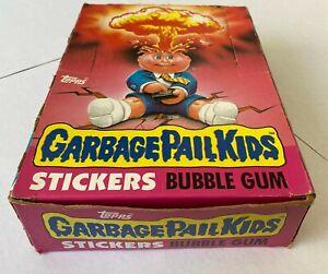 1985 Topps Garbage Pail Kids Original Series 1 Empty Box