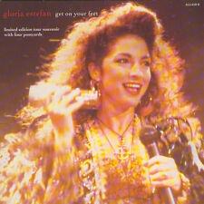 """Gloria Estefan Get on Your Feet 7"""" Vinyl UK Epic 1989 Limited Edition Tour"""