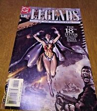 DC Wonder Woman Legends of the DC Universe The 18th Letter no 30