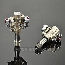 Xpedo Titanium/Titanium MTB Clipless Pedals Shimano Comp , XMF08TT