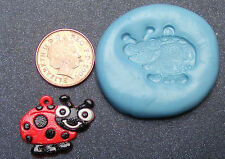 Reusable Lady Bird Silicone Food Safe Mould, Mold, Sugarcraft, Jewellery, Cake