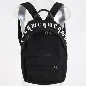 McQueen Logo Black/White Backpack (SJ3) RRP £294.99