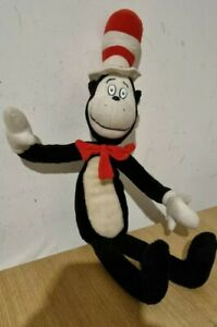 """Dr Seuss Cat In The Hat 22"""" Plush Soft Toys Teddy"""
