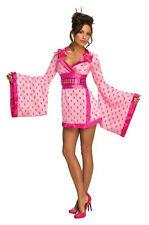 Secret Wishes Women's Sexy Playboy Pink Geisha Costume XS