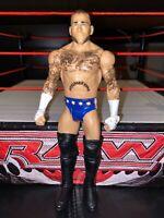 CM Punk with sideburns - Basic Series - WWE Mattel Wrestling Figure