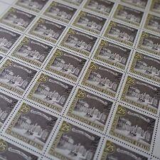 feuille sheet Bogen Deutschland berlin Nr.200 x50 1962 neuf luxe mnh
