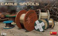 Cable Carretes Diorama Accesorios 1 :3 5 Plástico Modelo Kit Miniart