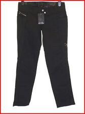 "Bnwt Women's Oakley Flashback Stretch Jeans Skinny Fit UK Size 6 L33"" New Black"