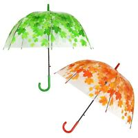 Clear Dome Umbrella Canopy Fashion Accessory Outdoor Rain Protect Water Proof