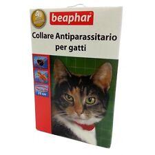 Collare Antiparassitario Antipulci Antizecche per Gatti con Principio Attivo