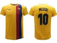 Maglia Messi 2020 Barcelona Ufficiale Barcellona FCB Leo Lionel 10 away gialla