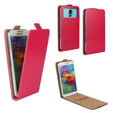 Handy Hülle | HUAWEI Ideos X3 | Flip Schutz Tasche | Flip Pink XS