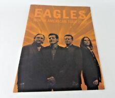 Thompson printing Eagles North American Music Tour 2002 program magazine