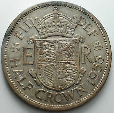 1955   United Kingdom    Half Crown