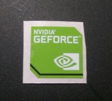 Pegatina Nvidia Geforce Sticker decal metalic