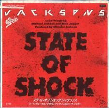 "#53 Michael Jackson & The Jacksons State of shock (7"" Japon -1984)"