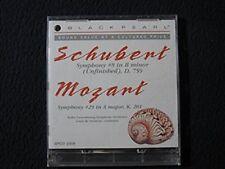 Black Pearl Schubert Symphony #8 in B Minor, Mozard Symphony #29 in A Major