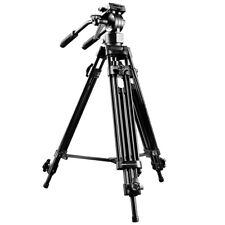 walimex pro EI-9901 Video-Pro-Stativ mit Neiger, Libelle, belastbar bis 6 kg