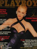 Playboy December 1987 Gala Christmas Issue | Brigitte Nielsen India Allen #1292+