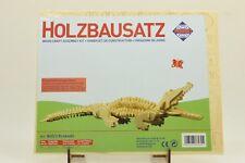 Pebaro 860/3 Holzbausatz Krokodil NEU und OVP
